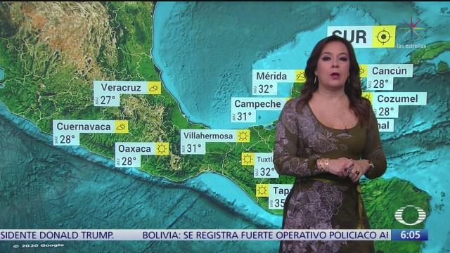 frente frio 31 se extendera sobre la frontera norte de mexico