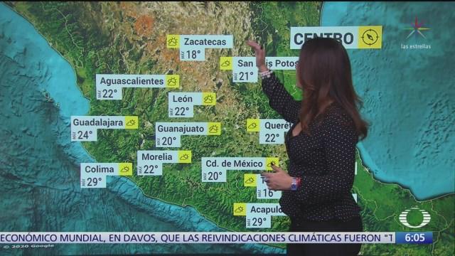 frente frio 33 provoca nubosidad en el golfo de mexico