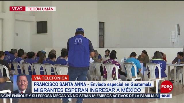 FOTO: 19 enero 2020, funcionarios de naciones unidas se reunen en guatemala por caravana migrante