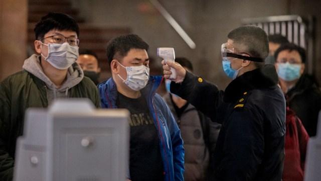 """Foto: Ya son 8 las ciudades """"selladas"""" en China por el nuevo coronavirus, 23 de enero de 2020, (Getty Images)"""