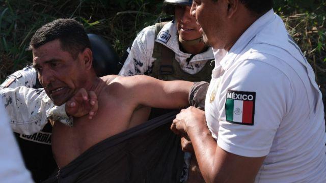 Investigan a GN por exceso de fuerza contra migrantes