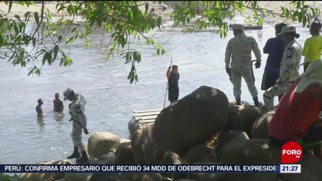 Foto: Guardia Nacional Mantiene Operativo Migrantes Frontera Sur 22 Enero 2020