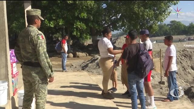 Foto: Guardia Nacional Refuerza Vigilancia Llegada Migrantes 17 Enero 2020