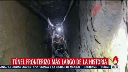 Foto: Túnel Fronterizo Más Largo Historia Tijuana Estados Unidos 29 Enero 2020