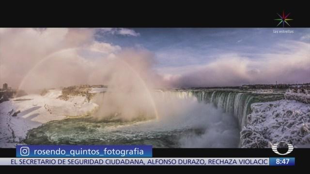 imagenes extraordinarias de rosendo quintos cataratas del niagara