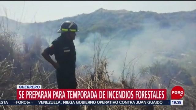 Foto: Incendios Forestales 2020 Guerrero Superar 2019 22 Enero 2020