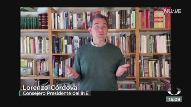 FOTO: ine habla sobre proceso de formacion de nuevos partidos politicos