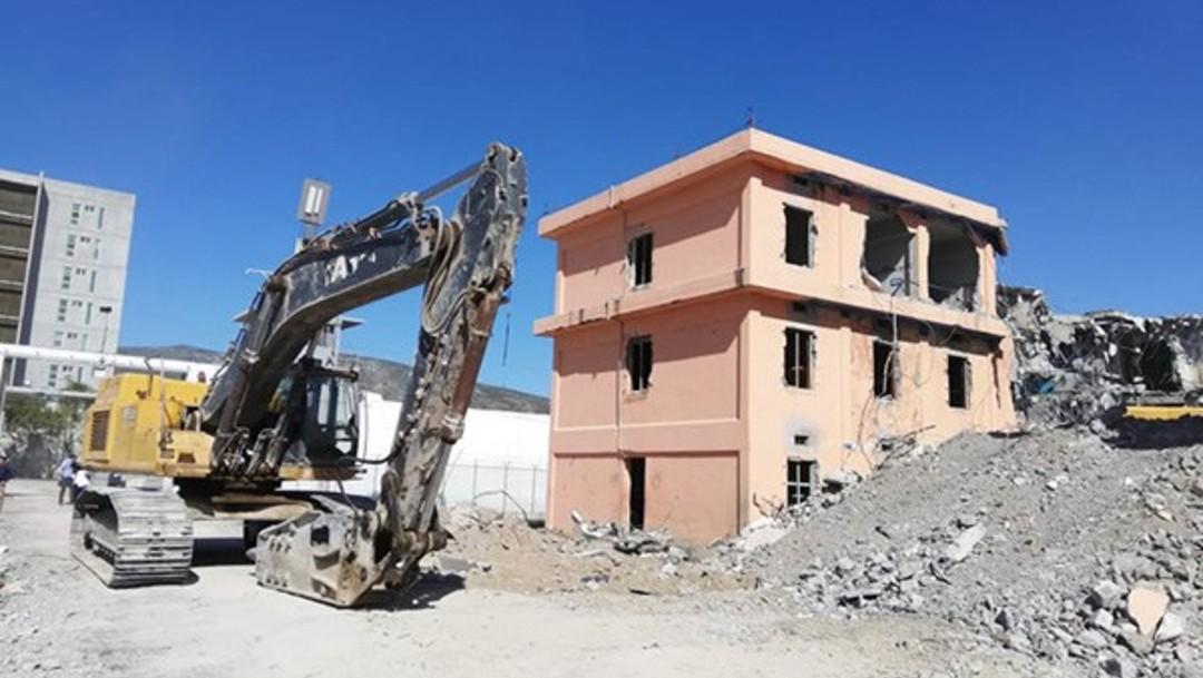 Inicia demolición del expenal de Topo Chico, en Nuevo León