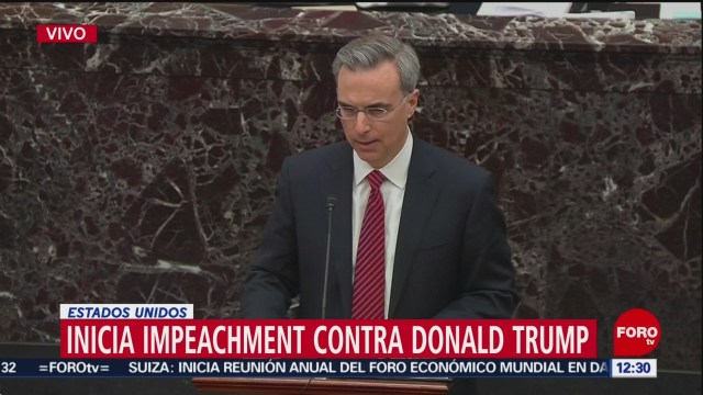 inicia juicio politico contra el presidente donald trump
