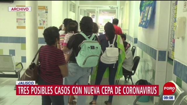 investigan tres posibles casos de coronavirus en jalisco