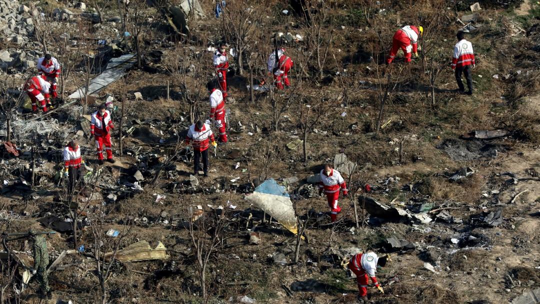 Foto: Irán castigará a responsables de derribo de avión ucraniano con 176 personas