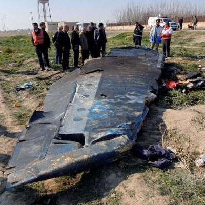 Irán confirma que dos misiles disparó contra avión ucraniano