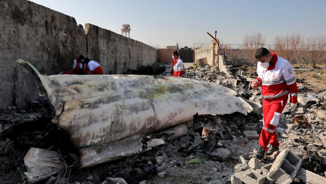 Irán realiza arrestos relacionados con derribo de avión
