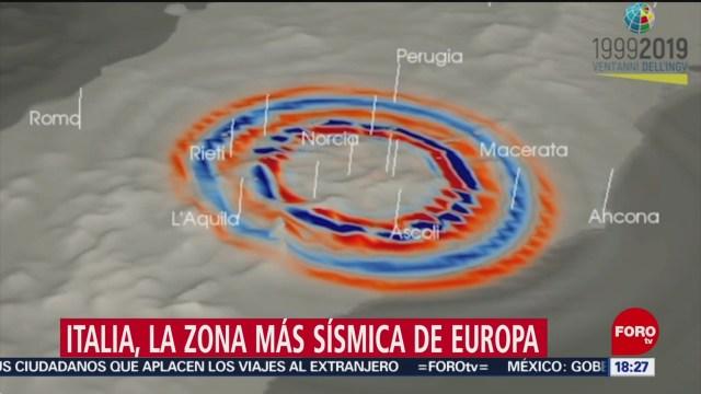 FOTO: italia la zona mas sismica de europa