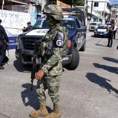 Retienen a elementos de la Guardia Nacional en Guerrero