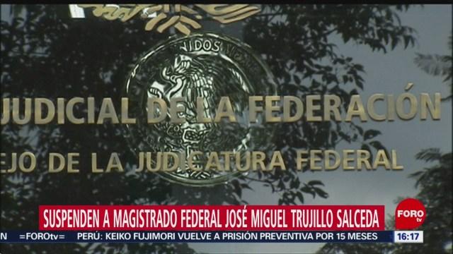 FOTO: judicatura suspende a magistrado por acoso y nepotismo