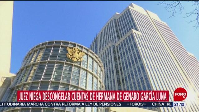 Foto: Genaro García Cuentas Ligadas Luna Juez Niega Descongelar 24 Enero 2020
