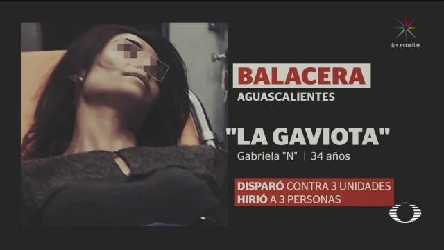 Foto: Mujer Roba Arma Dispara Aguascalientes Video 27 Enero 2020