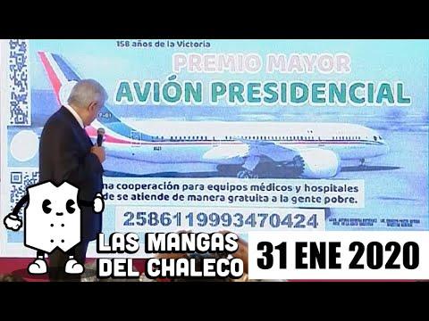 FOTO: Las Mangas del Chaleco con los cachitos para rifar el avión presidencial, los pleitos al interior en Morena y los abucheos al Bronco.