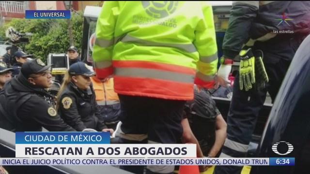 liberan a dos abogados secuestrados en la alcaldia alvaro obregon