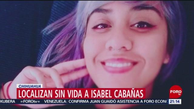 Foto: Activista Isabel Cabañas Localizada Muerta 20 Enero 2020