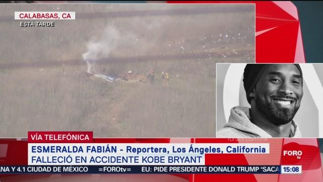 FOTO: 26 enero 2020, los angeles llora la muerte de kobe bryant