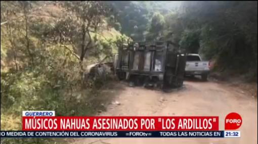 Foto: Los Ardillos Responsables Asesinato Músicos Nahuas 22 Enero 2020