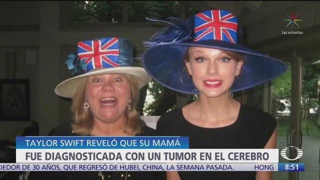 mama de taylor swift sufre tumor cerebral
