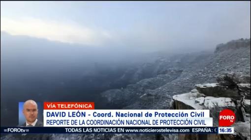 FOTO: 3 enero 2020, mantienen alerta por frio extremo en mexico