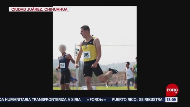 FOTO: matan a joven medallista en cd juarez