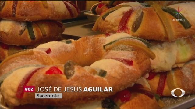 Foto: México Celebra Tradicional Partida Rosca Reyes Magos 6 Enero 2020
