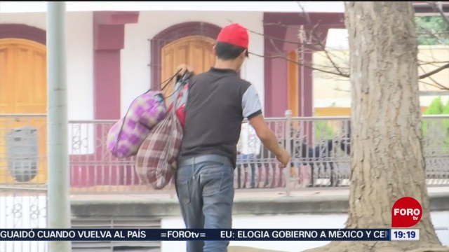 Foto: Migrantes Centroamericanos Chiapas Buscan Regularización27 Enero 2020