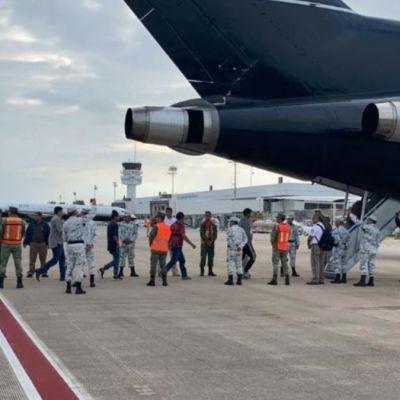 INM repatria a 110 migrantes a Honduras.