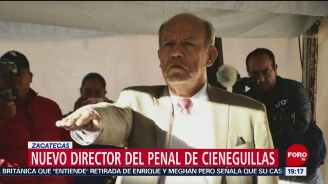 Foto: Director Penal Cieneguillas Zacatecas Militar Nuevo 8 Enero 2020