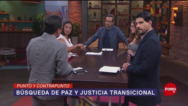 Foto: Movimiento Paz Justicia Transicional Javier Sicilia 21 Enero 2020