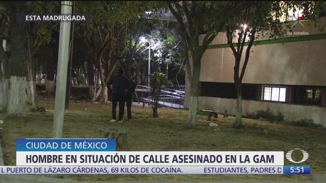 muere hombre en situacion de calle tras ser agredido con bote con concreto
