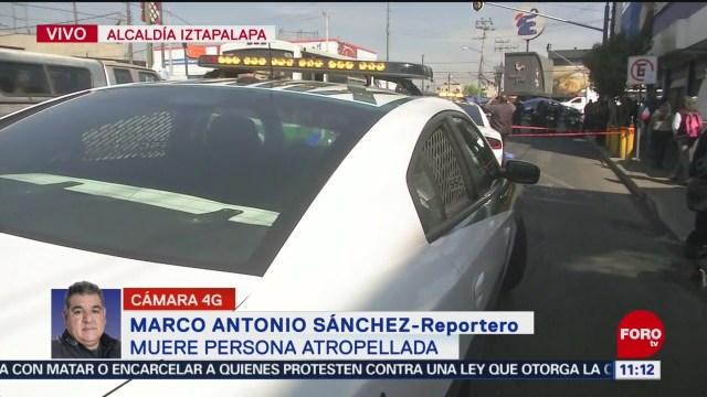muere personas tras ser atropellada en avenida tlahuac
