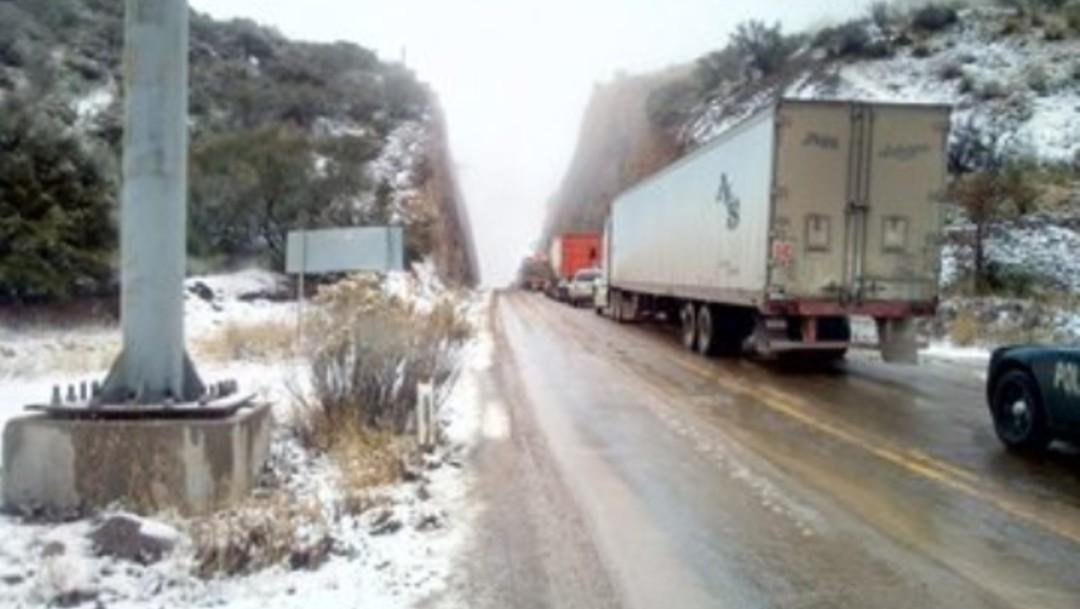 Foto: Nevadas en el norte y noreste de Sonora