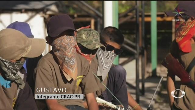 Foto: Niños Armados Guerrero Sin Asistir Clases 29 Enero 2020