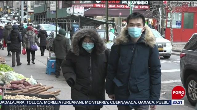 Foto: Coronavirus Nueva York Alerta Máxima 28 Enero 2020