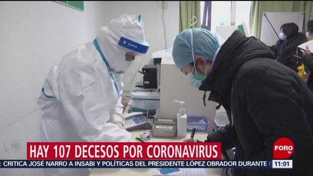 oms confirma que el coronavirus aun no esta circulando en mexico