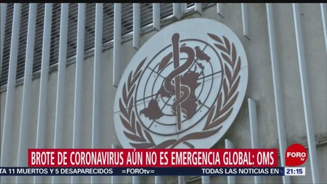 Foto: Oms Descarta Alerta Brote Coronavirus Chino 23 Enero 2020