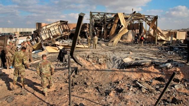 Foto: Once soldados de EEUU resultaron heridos en ataque de Irán a base iraquí