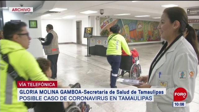 paciente con posible coronavirus viajo a china dice secretaria de salud de tamaulipas