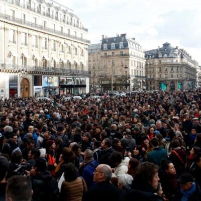 Una nueva manifestación de 'chalecos amarillos' en París, 18 enero 2020