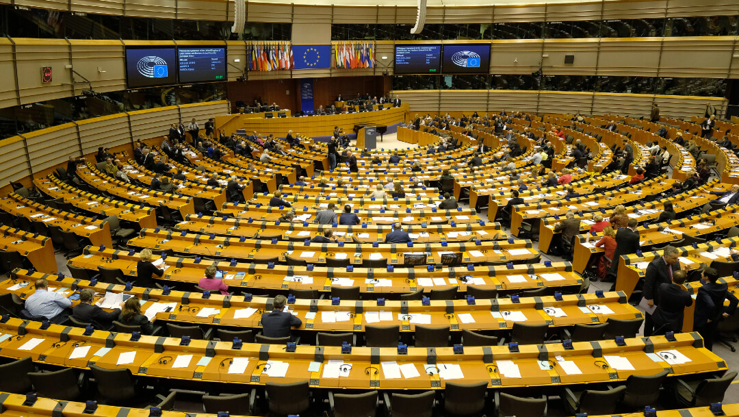 FOTO Parlamento Europeo ratifica acuerdo del Brexit (Getty Images)