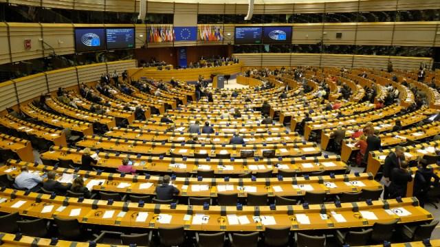 FOTO Parlamento Europeo ratifica acuerdo del Brexit (Getty Images)