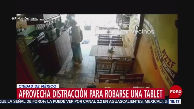 Foto: Video Payaso Roba Tablet Restaurante Picacho Ajusco20 Enero 2020