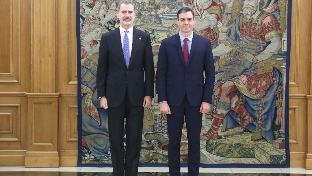 Pedro Sánchez jura como presidente ante el rey de España