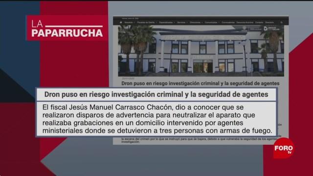 Foto: Policías Disparan Dron Reportero Chihuahua Noticias Falsas 24 Enero 2020